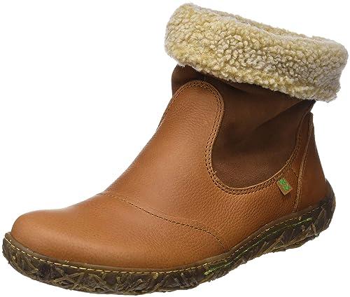El Naturalista N758 Soft Grain-Lux Suede Cuero/Nido, Botines para Mujer: Amazon.es: Zapatos y complementos
