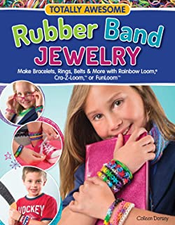 The loomatics interactive guide to the rainbow loom suzanne m totally awesome rubber band jewelry make bracelets rings belts more with rainbow fandeluxe Images