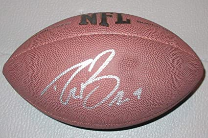 30e28002138 Drew Brees Autographed Wilson NFL Football W PROOF