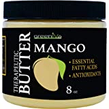 GreenIVe - 100% Pure Mango Butter- All Natural - Fresh Sourced - Exclusively on Amazon (8 Ounce Jar)
