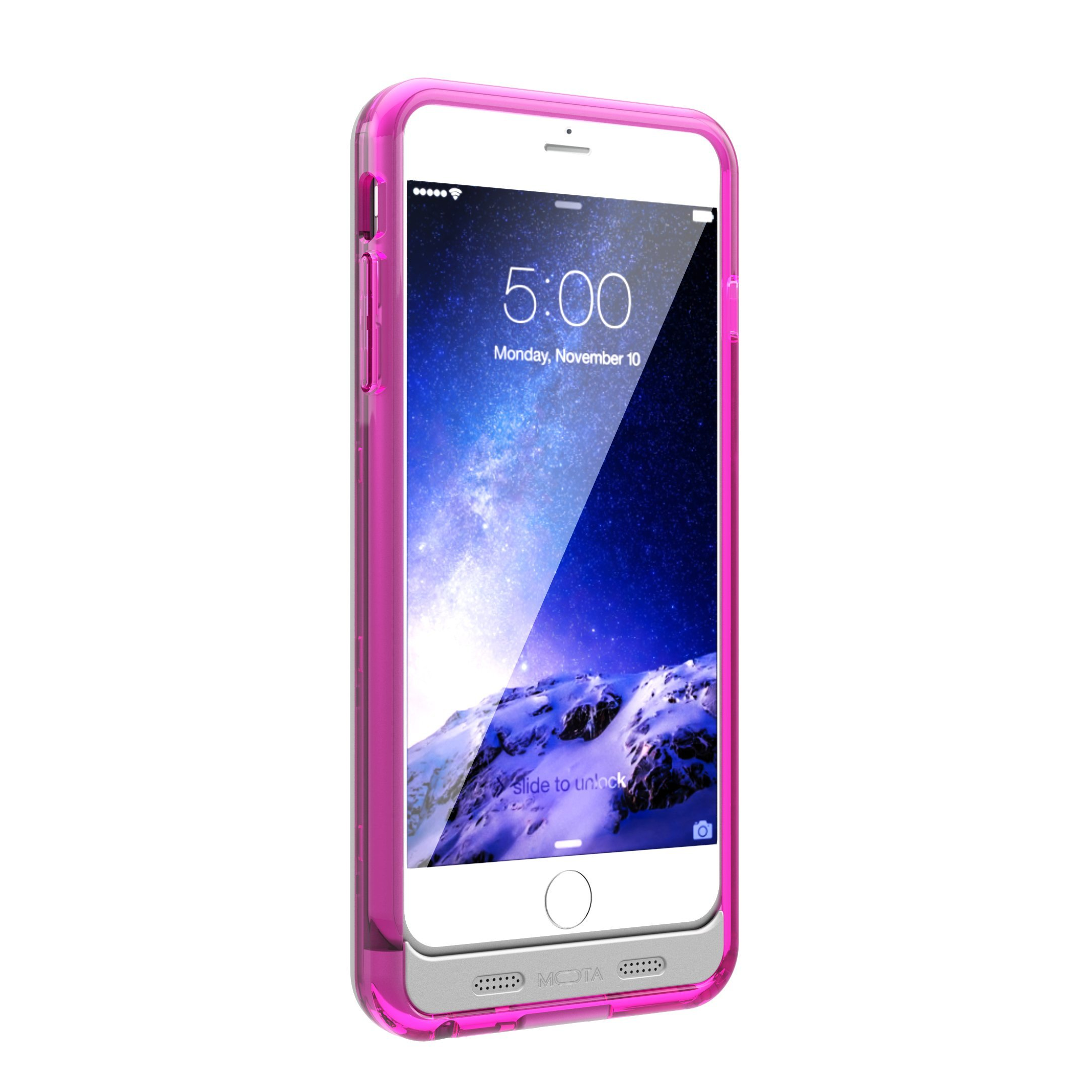 TAMO iPhone 6/6s Extended Battery Case, TAMO 2400 mAh dual-purposed Ultra-Slim Protective Extended Battery Case - Pink - Battery - Retail Packaging - Pink by TAMO (Image #9)