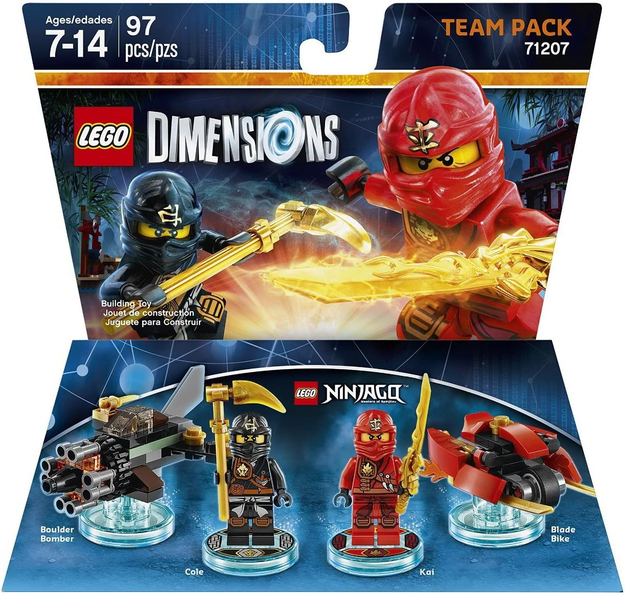 WB Games Ninjago Team Pack - Lego Dimensions