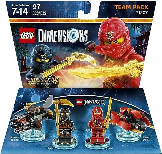 LEGO Dimensions, Ninjago Team Pack by Warner Home Video - Games ...