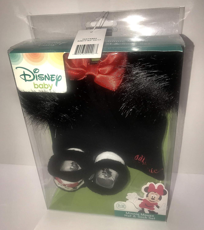 One Size Adjustable. New Black Children/'s Disney Minnie Ear Muffs Red Satin Bow