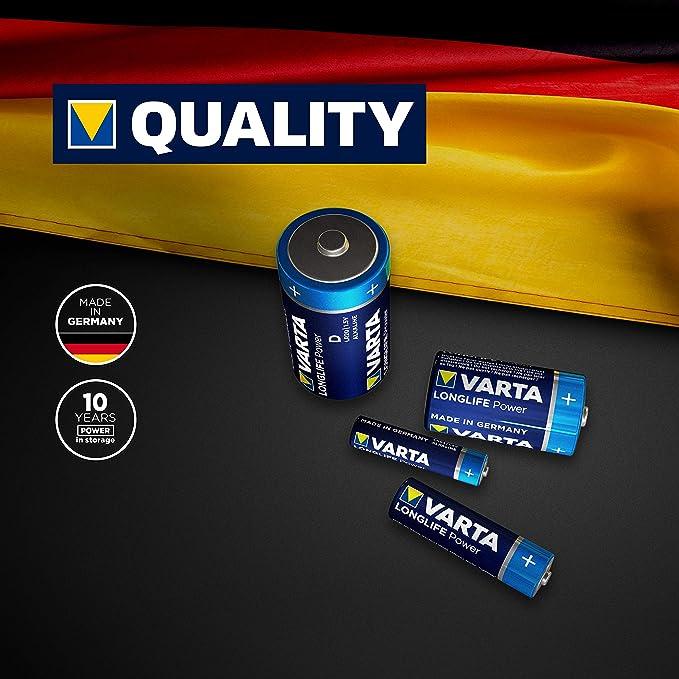 Varta Longlife Power Batterie 4 5 V Block Batterie Elektronik