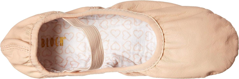 Bloch Dance Womens Belle Full Sole Leather Ballet Slipper//Shoe