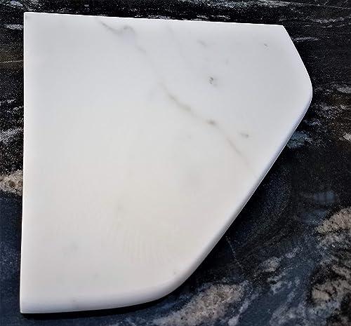 8 Marble Shower Corner Shelf – Soap Dish Dolomite White XD Natural Stone Bathroom Caddy – Bath Shampoo Holder