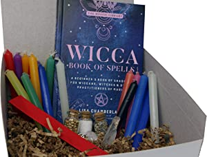 PINE PENTAGRAM Wiccan Witch Set for Beginners (Multicolored)