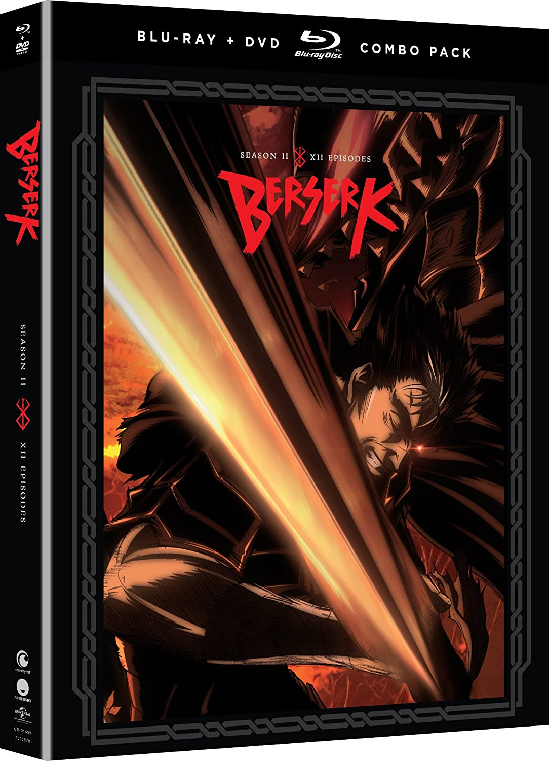 Amazon.com: Berserk: Season Two [Blu-ray]: Kaiji Tang, Erica ...