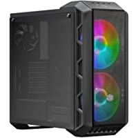 Cooler Master MasterCase H500 ARGB Airflow ATX Mid-Tower with Mesh & Transparent Front Panel Option, Dual 200mm ARGB…