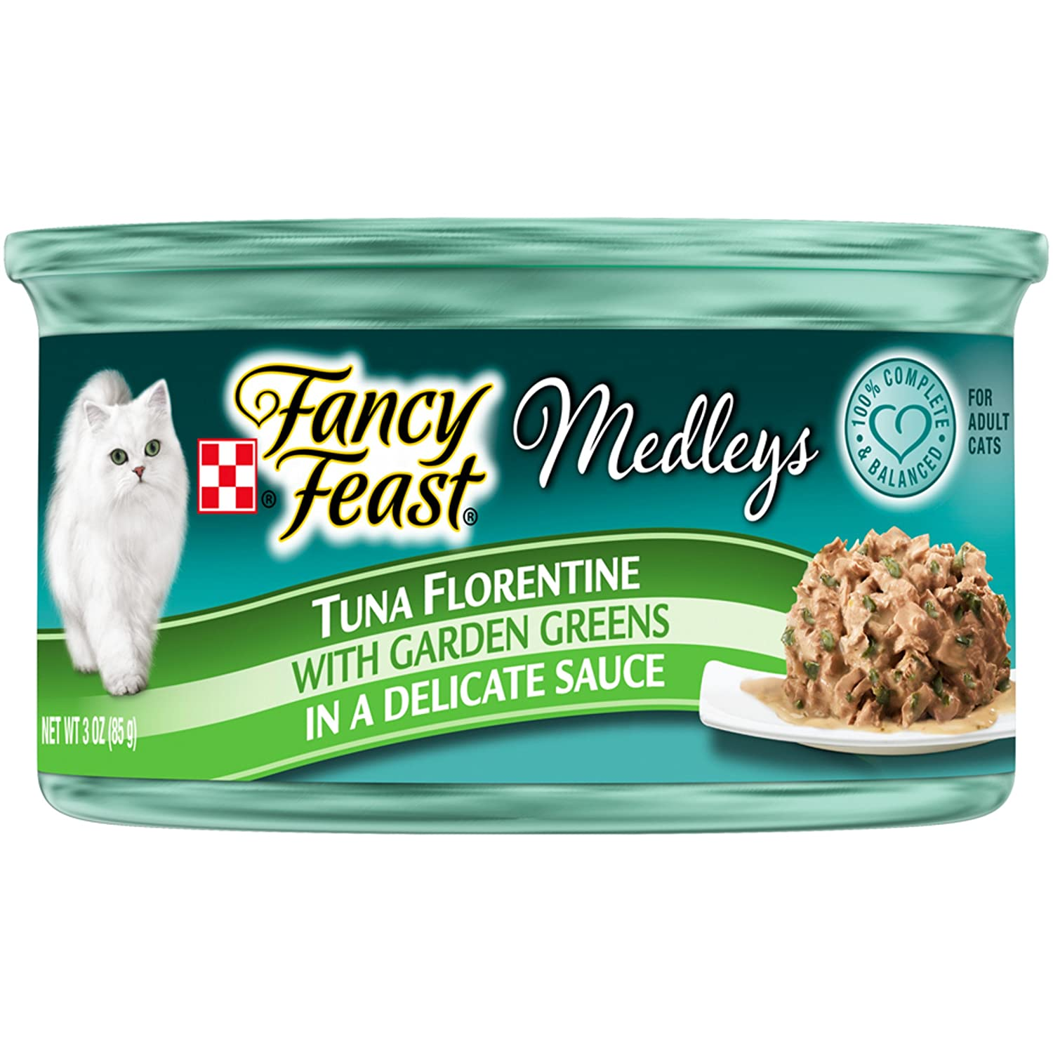 Purina Fancy Feast Medleys Florentine Collection Gourmet Wet Cat Food (24) 3 oz. Cans