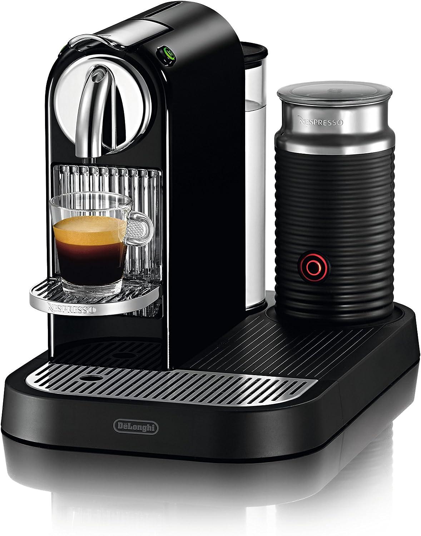 DeLonghi Nespresso Citiz & Milk Black EN266BAE - Cafetera monodosis, color negro: Amazon.es: Hogar