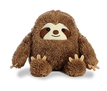 Amazon Com Aurora 11 Inch Three Toed Sloth Plush Stuffed Animal