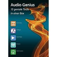 Audio Genius - Musik und Videos Aufnehmen, Bearbeiten, Konvertieren, Speichern, Rippen, Brennen, Verwalten und Abspielen für Windows 10 - 8 - 7 - Vista