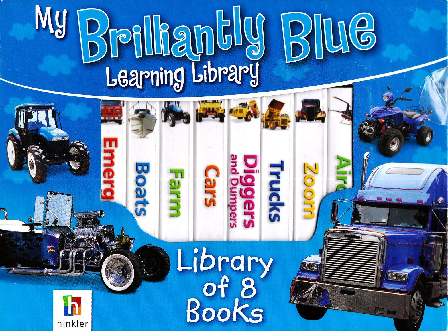 Read Online My Brilliantly Blue Learning Library (My Learning Library) PDF