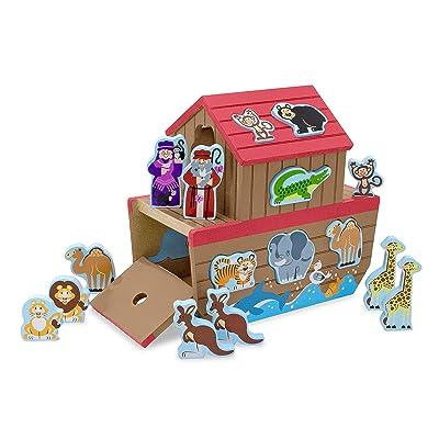 Melissa & Doug Noah's Ark Shape Sorter: Melissa & Doug: Toys & Games