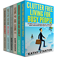 Clutter Free Strategies To Organize Your Home: 6 Manuscripts: Learn Over 200 Ways To Get Organized And Keep Your Home Clean (Simplify Your Space, How To ... How To Clean Fast Book 1) (English Edition)