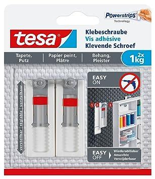 Tesa Klebeschraube Fur Tapeten Und Putz Verstellbar Kg