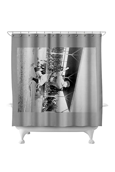 Frank Gilhooley NY Yankees Baseball Photo 71x74 Polyester Shower Curtain