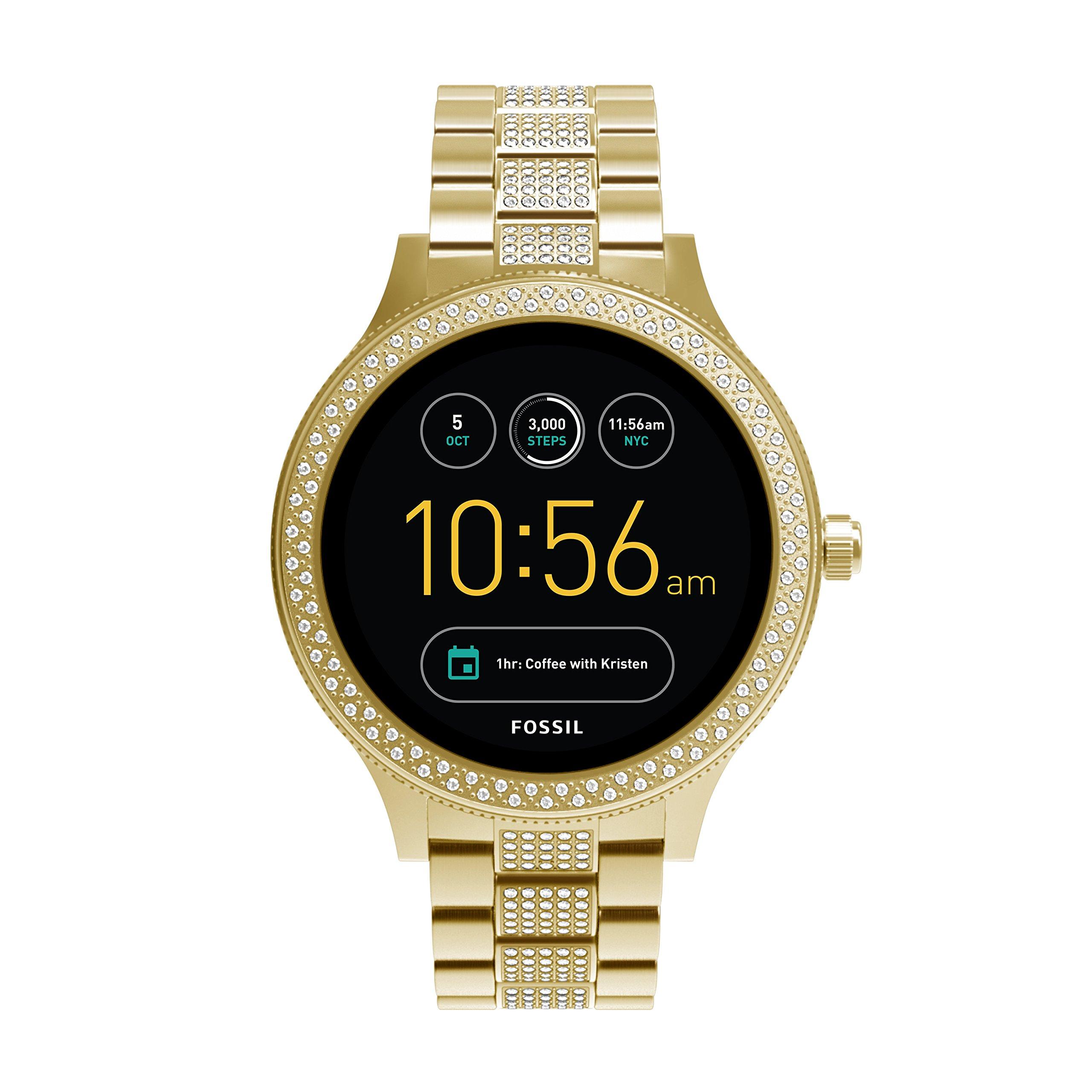 Fossil Gen 3 Smartwatch - Q Venture Gold-Tone Stainless Steel FTW6001