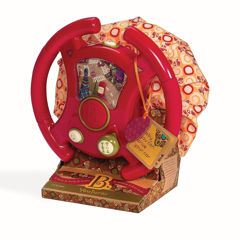 Promoción por tiempo limitado B. You Turns (Driving Wheel) (Discontinued by manufacturer) by Battat