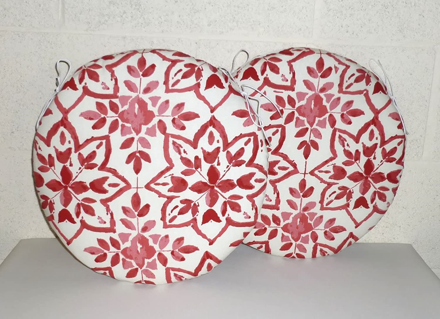"""ZIPPY 13/"""" ROUND TAPESTRY CHENILLE CHAIR CUSHION SEAT PAD HOME /& GARDEN FURNITURE"""