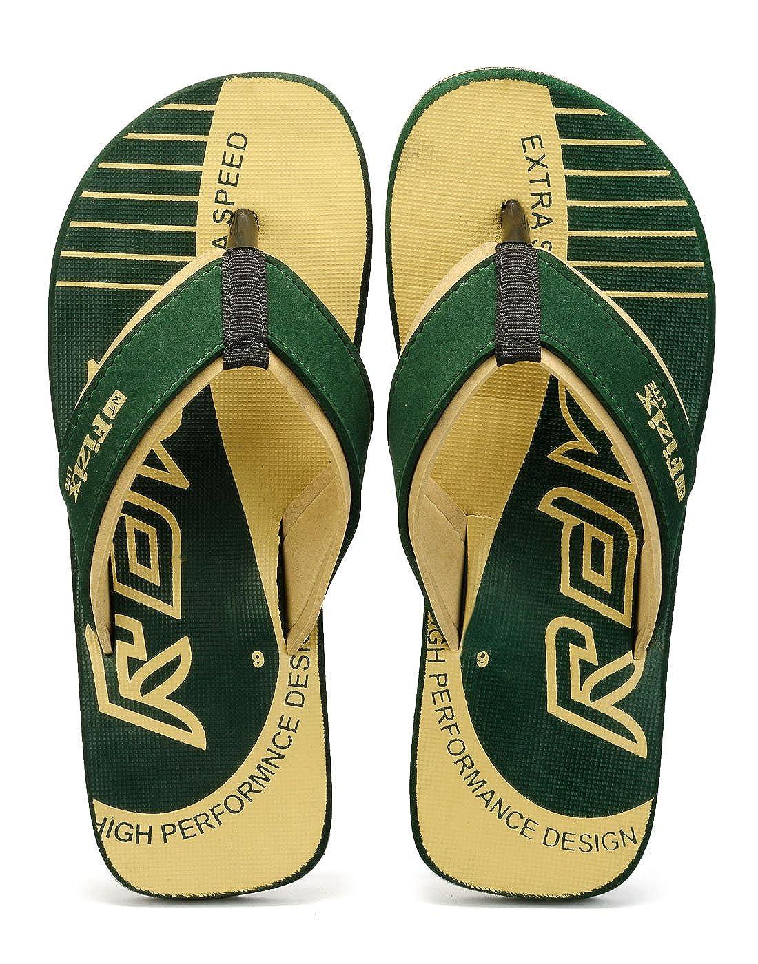 038e960cdd5d4 Frestol Men s Green Soft Eva Flip-Flops -7  Buy Online at Low Prices in  India - Amazon.in