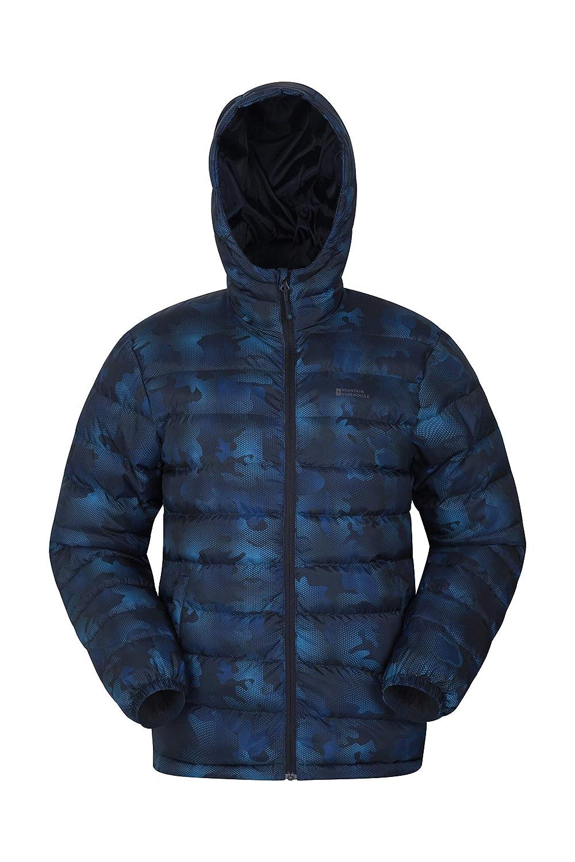 Winter Rain Jacket Mountain Warehouse Seasons Printed Mens Jacket