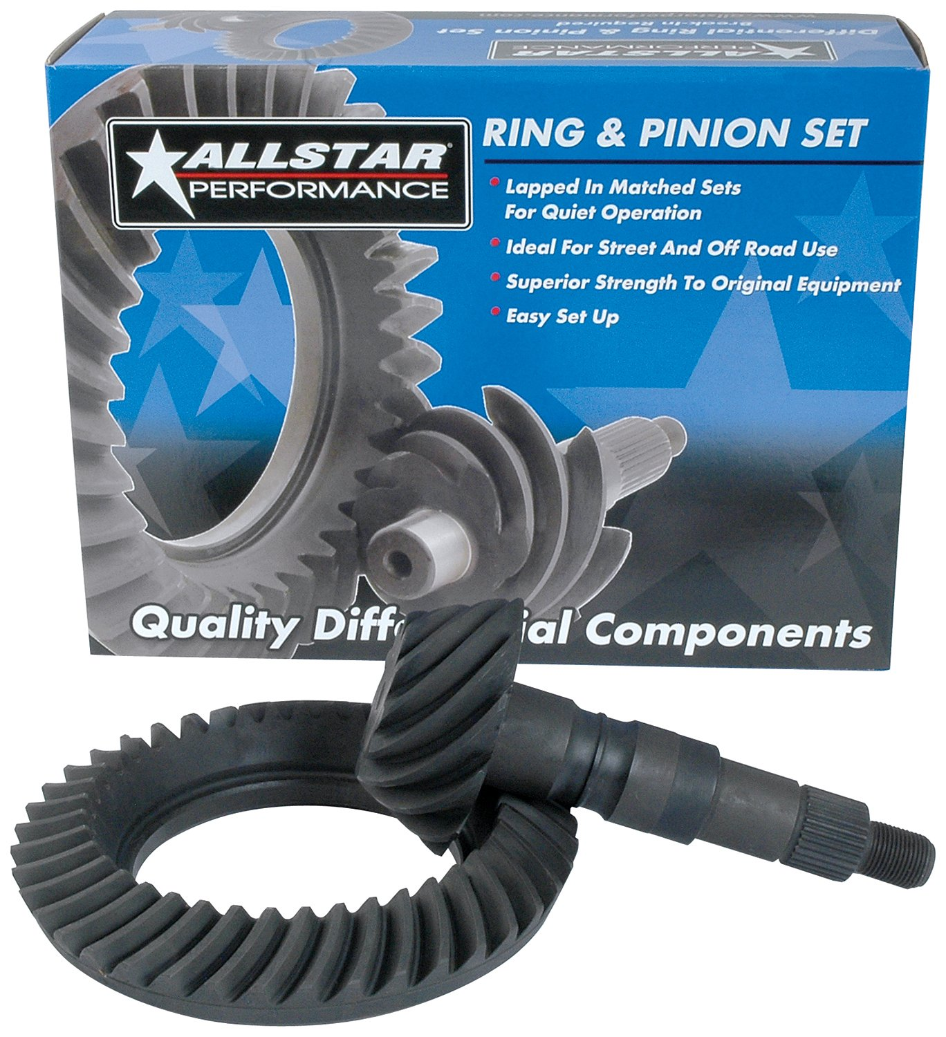 Allstar Performance ALL70030 9'' 5.29 Ring and Pinion Gear Set for Ford by Allstar