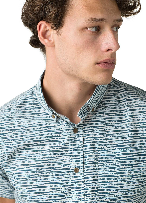 prAna Mens Zuckerfield Shirt Slim