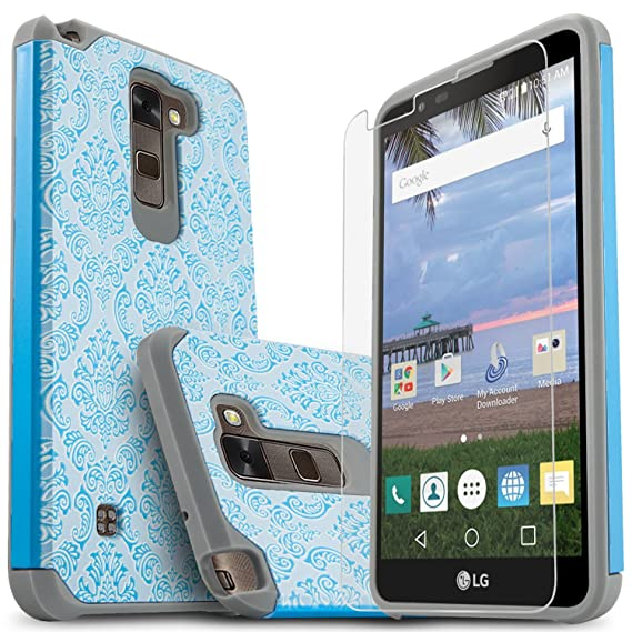 timeless design a3835 f57c4 LG Stylo 2 Case, LG Stylo 2 Plus Case, LG Stylo 2 V Case, Starshop [Shock  Absorption] Dual Layers Impact Advanced Protective Cover With [Premium HD  ...