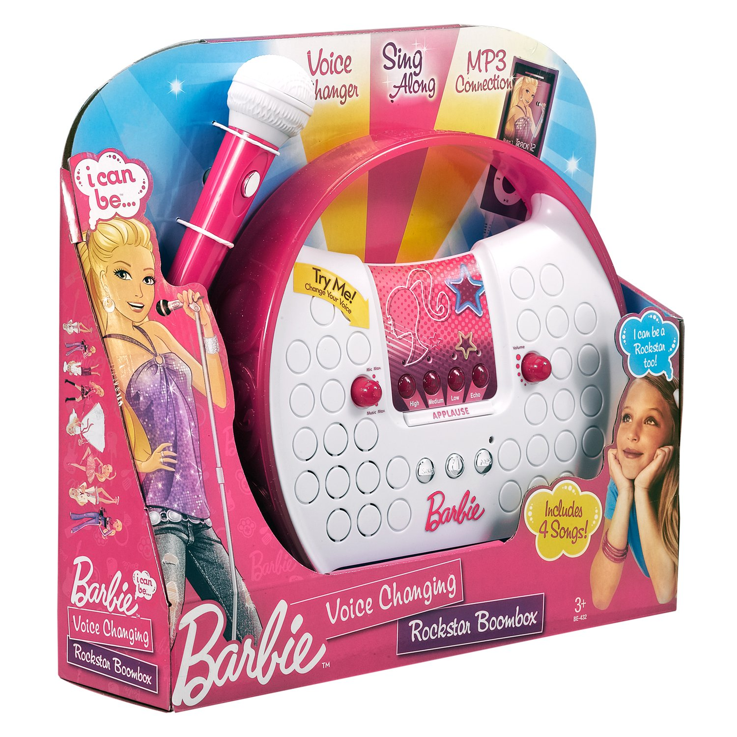 Barbie Voice Changing Rockstar Boombox by Barbie (Image #5)