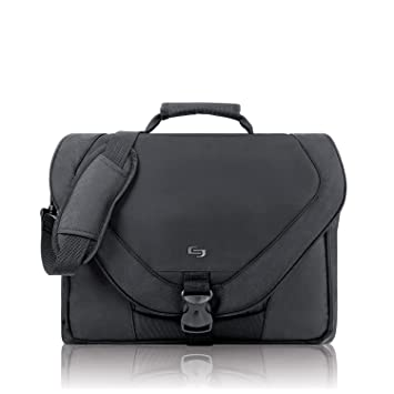 Amazon.com: Solo US Luggage Classic 17-Inch Laptop Messenger Bag ...
