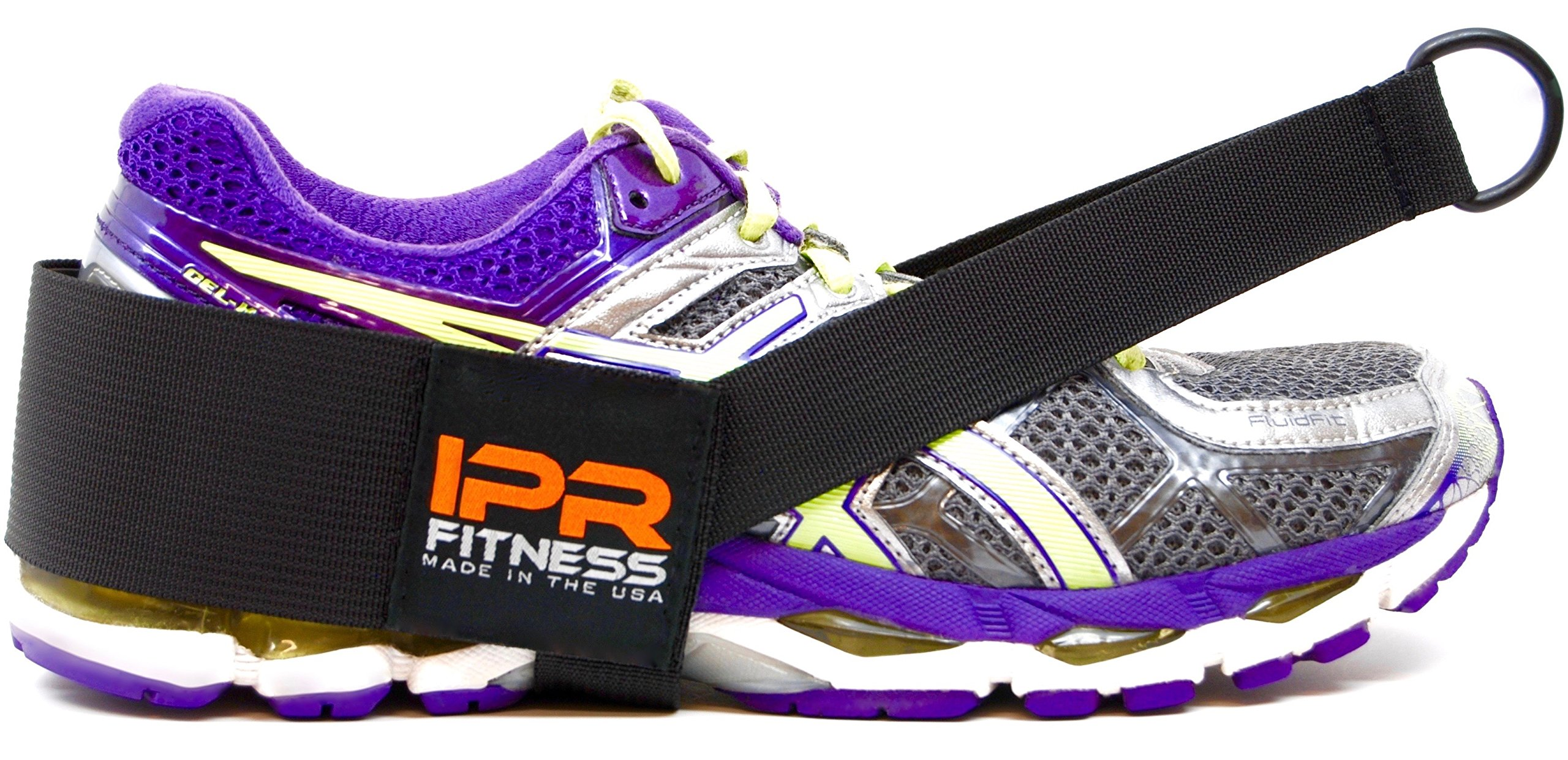 """IPR Fitness Glute Kickback LITE """"Patented"""" 100% Made in The USA – Cable Machine Ankle Strap"""