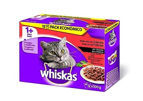 Multipack de 12 bolsitas de 100g de selección de carnes para gatos adultos | [Pack
