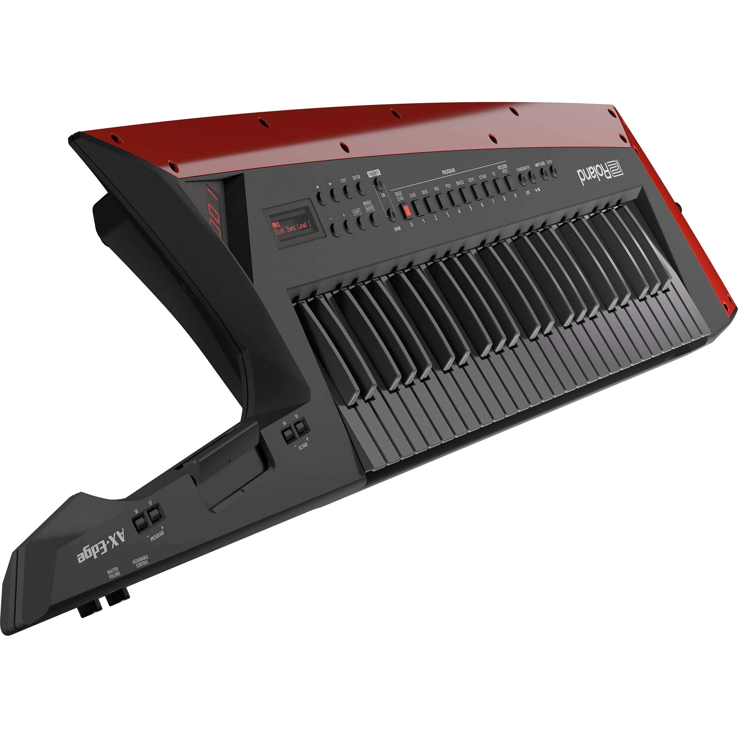 Roland Shoulder Keyboard''AX-Edge Keytar'' (BLACK) AX-EDGE-B + AC100V ~ AC240V (50/60 Hz) AC 100 V / 200 W (50/60 Hz) TransformerJapan Domestic Genuine ProductsShips from Japan by R