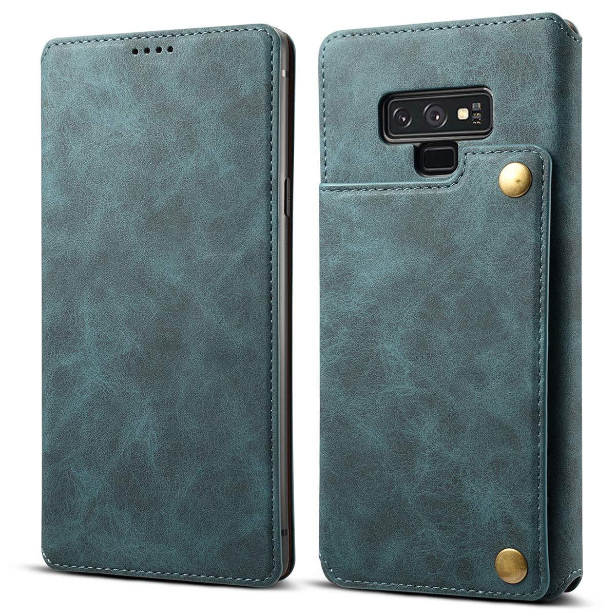 Samsung Galaxy Note 9 Leder Handyhü lle [Standfunktion] [Kartenfä cher] Flip Case Cover Leder Brieftasche Handy Schutzhü lle Lederhü lle Geldklammer