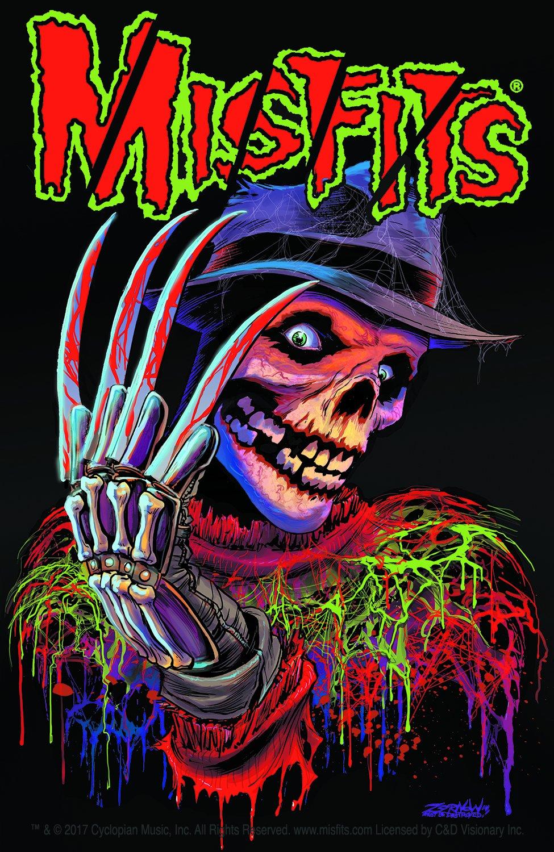 C/&D Visionary Misfits Nightmare Sticker S-8158