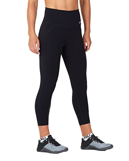 d96bb679 Amazon.com : 2XU Women's Fitness Hi-Rise 7/8 Compression Tights ...