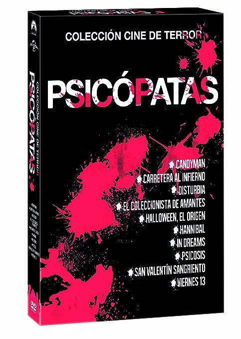 Pack Psicópatas [DVD]: Amazon.es: Vv.Aa., Alfred Hitchcock, Marcus Nispel, Ridley Scott, Vv.Aa., Vv.Aa.: Cine y Series TV