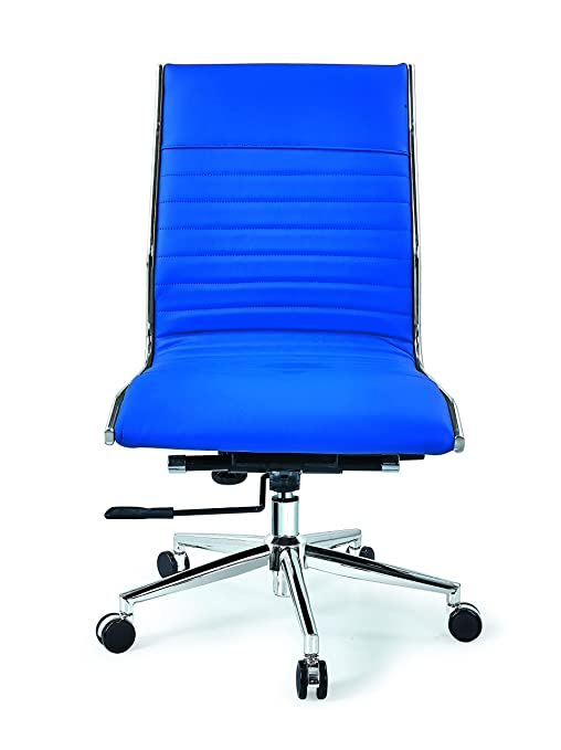Amazon.com: winport muebles mid-back silla de piel ejecutiva ...