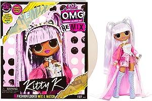 L.O.L. Surprise! O.M.G. Remix Kitty K Fashion Doll – 25 Surprises with Music