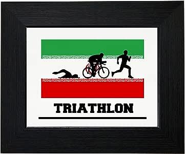 Amazon.com: Royal Prints Iran Olympic - Triathlon - Flag