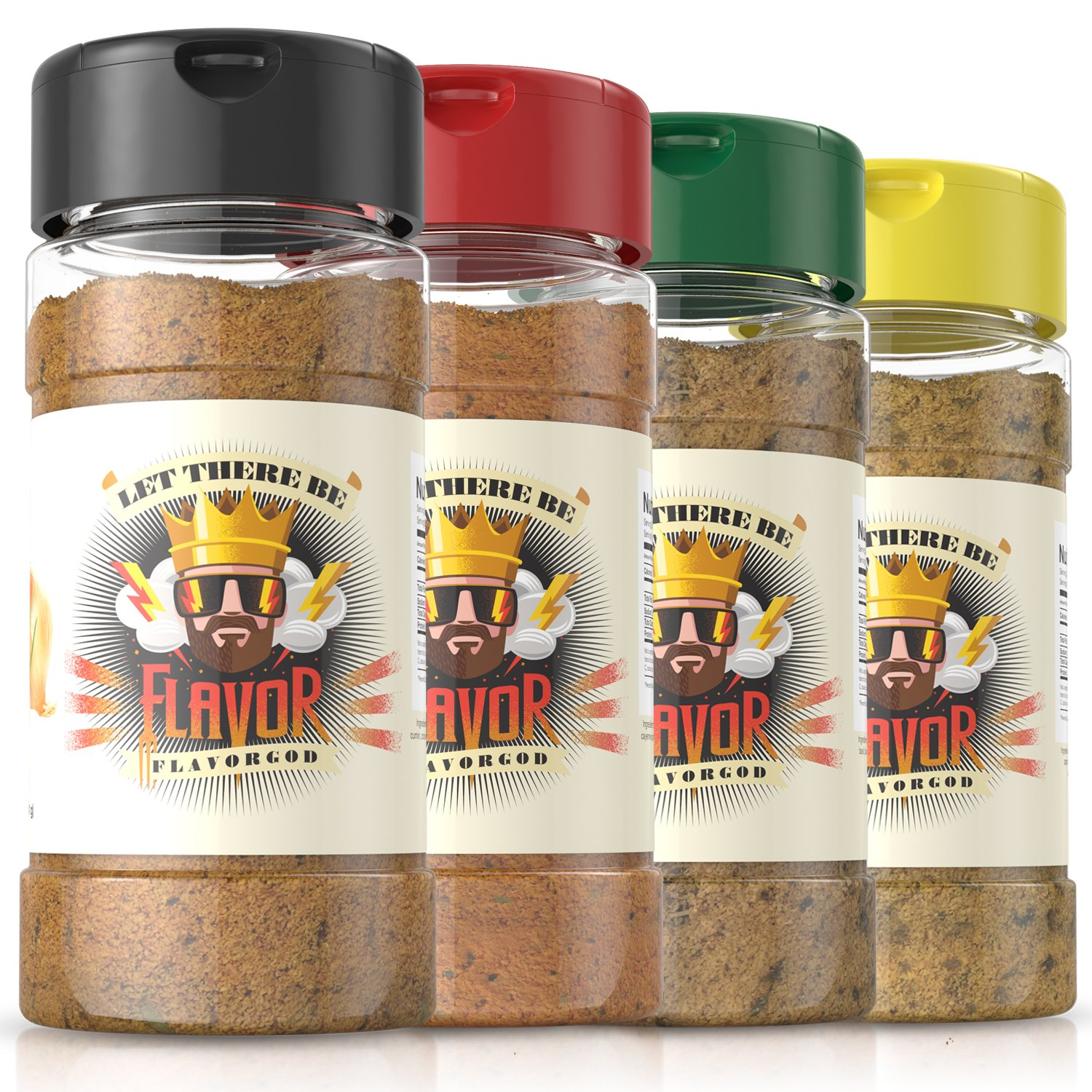 Flavor God Seasonings, 5oz, Pack Of 4
