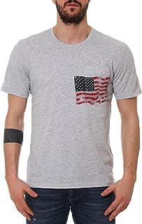 Parajumpers Men's PMFLETS01P22566 Grey Cotton T-Shirt