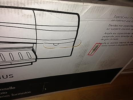 HP Designjet 110plus r Printer - Impresora de gran formato (PCL 3 GUI, Cyan, magenta, amarillo, negro, 625 mm mediante recorrido frontal de alimentación manual, 5 mm, 10 cm, Inyección térmica de
