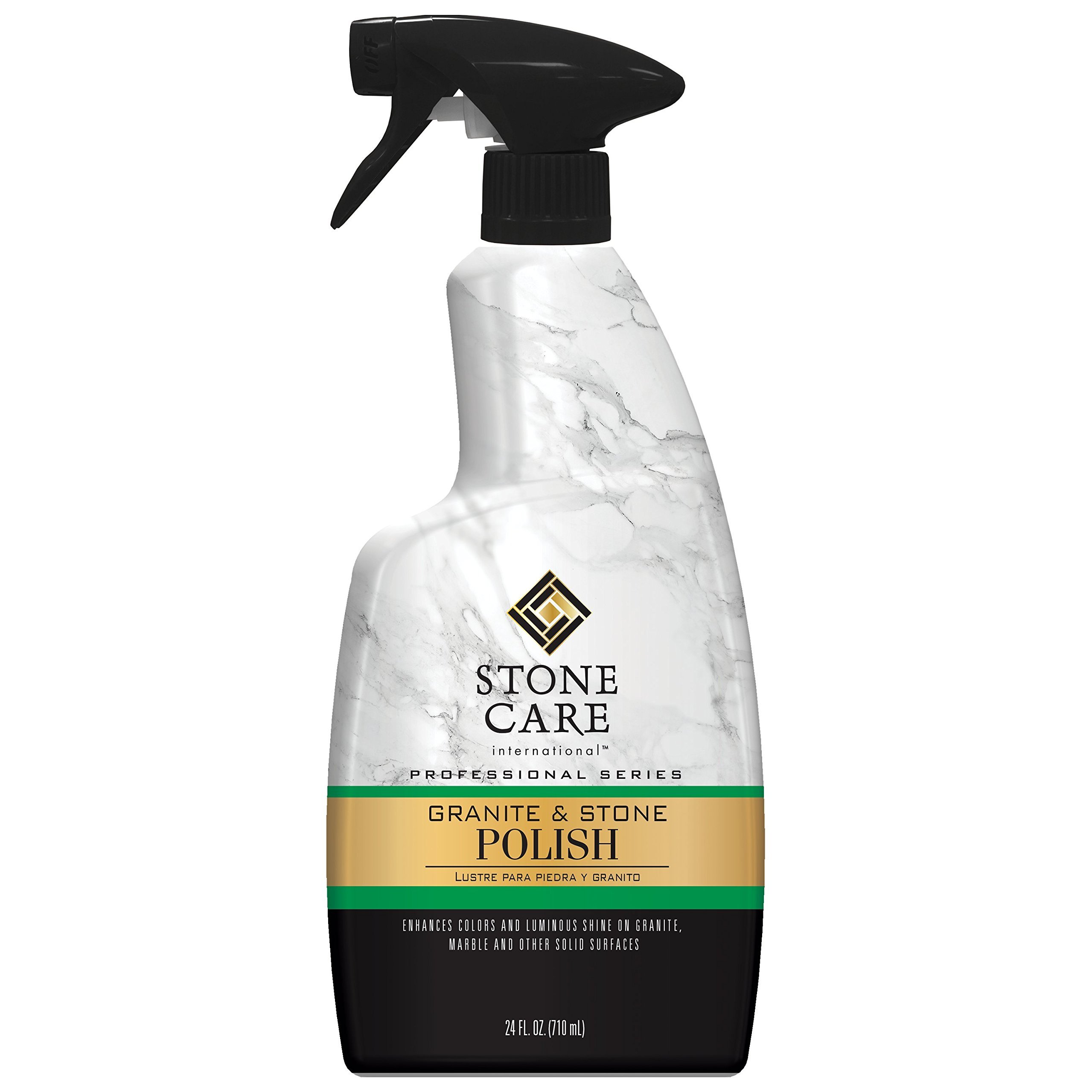 Stone Care International Granite Stone Polish - 24 Ounce - for Granite Marble Soapstone Quartz Quartzite Slate Limestone Corian Laminate Tile Countertop by Stone Care International