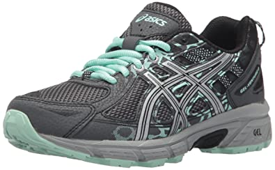 ASICS Women s Gel-Venture 6 Running-Shoes,Castlerock Silver Honeydew, 69d034dc4f