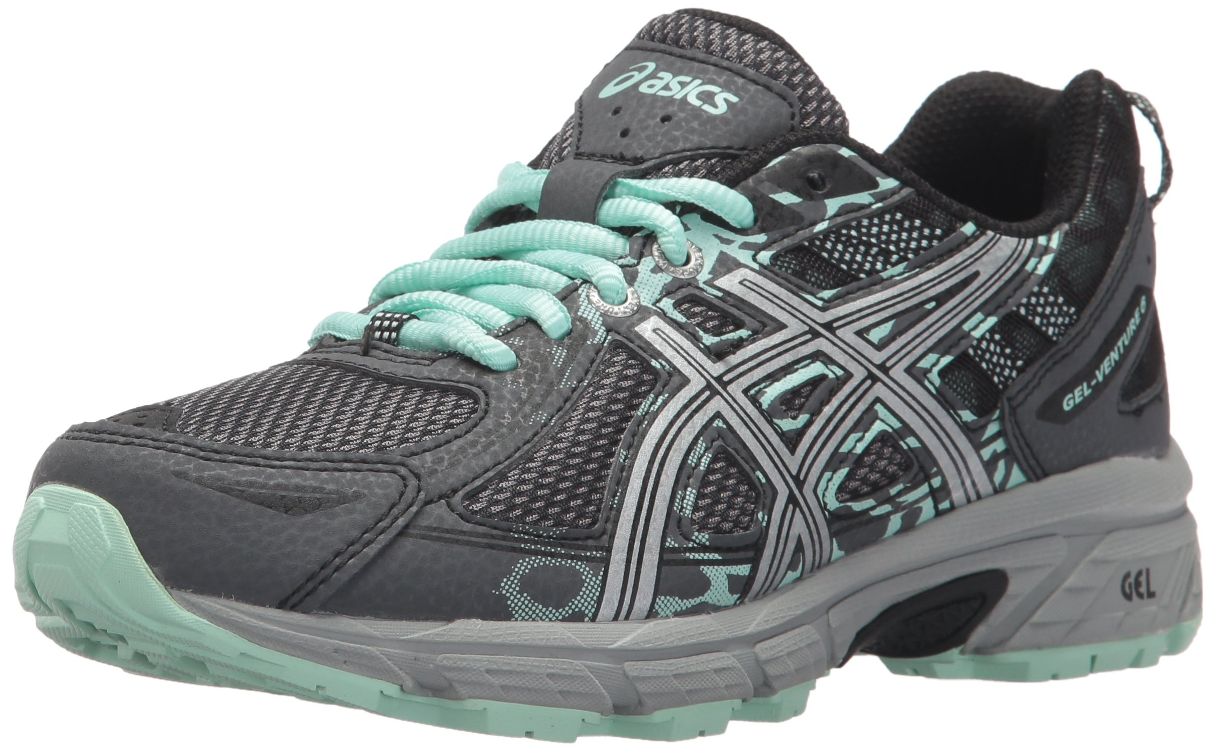 ASICS Women's Gel-Venture 6 Running-Shoes,Castlerock/Silver/Honeydew,10 Medium US