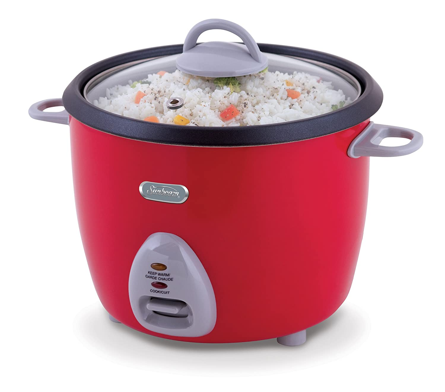 Sunbeam 16-Cup Rice Cooker, Red CKSBRC165-033